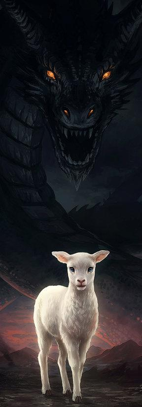 ikona the_lamb_and_the_dragon_by_jojoesart-db7rupt6244.jpg